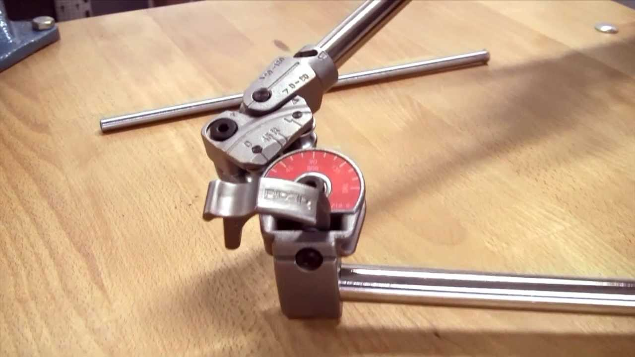 Ridgid How To Bend Stainless Steel Pipe Youtube