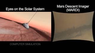 Rover Curiosity: Landing sequence breakdown