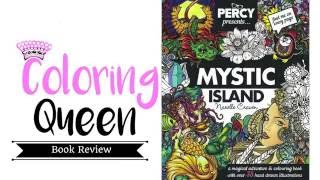 Percy & The Mystic Island Coloring Book Review - Narelle Craven