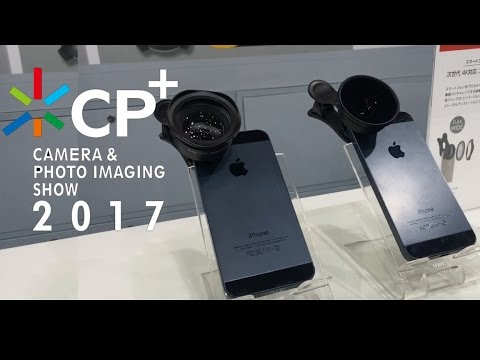 New Generation Clip Lens For Smart Phones Presented At CP+2017