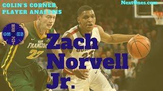 Zach Norvell Jr Gonzaga Bulldogs Scouting Report   NBA Draft 2019   Colin's Corner