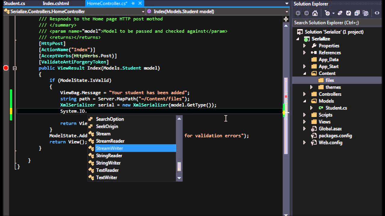 How to: Write Object Data to an XML File (C#)