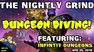 Infinity Dungeon Battles Day 1...  Marvel Contest of Champions