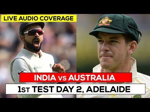 LIVE: Ind vs Aus 1st Test | Day 2 | Live #Cricket Scores, Audio Updates & Analysis #INDvsAUS