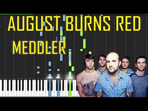 August Burns Red Meddler Piano Tutorial Chords How To Play