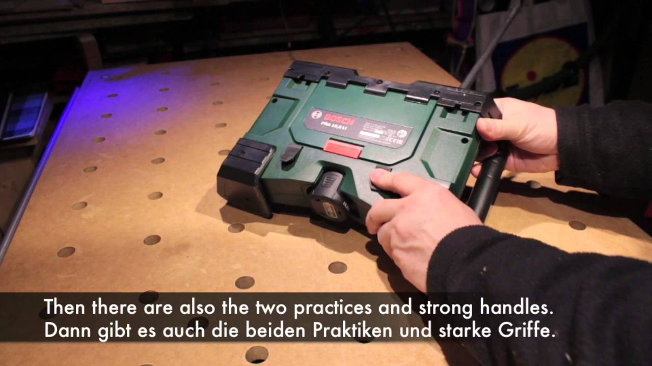 video 326 pra 10,8 volt - bosch - youtube