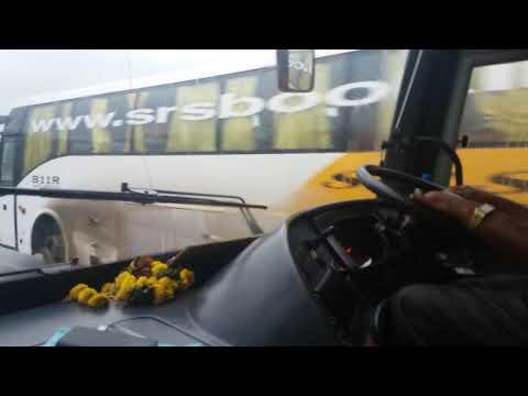 ♂VOLVO B11R's High speed chase in mumbai pune expressway!!!!