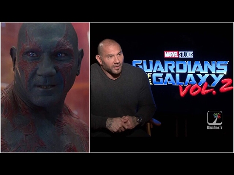 Dave Bautista [Drax] Interview Guardians of the Galaxy Vol. 2