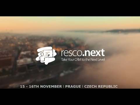 Thank you for joining us at resco.next Prague 2018!