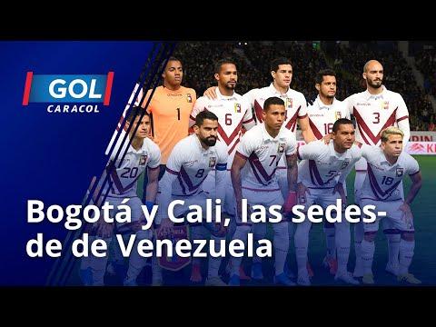 """Venezuela jugará en Cali y Bogotá, por eso Rafael Dudamel se sentirá """"como en casa"""""""