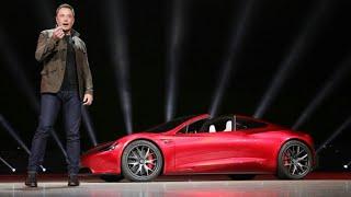 Tesla roadster 2017 test drive