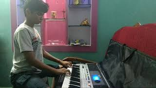 Adarsh Haridas odiyan film song kondoram keyboard version