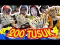 LOMBA MAKAN SATE TAICHAN 200 TUSUK! ft.EnjoyAja