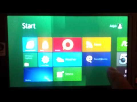 Windows 8 sur HTC shift (version x86)