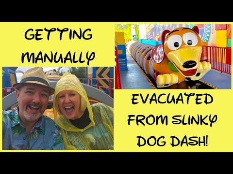 Manually Evacuated From Slinky Dog Dash!  Yikes!!