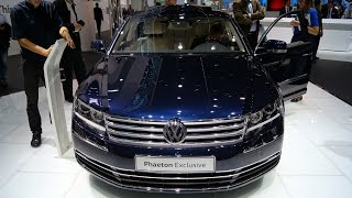 VW Phaeton 4.2 V8 (2015) Walkaround at the IAA 2015 in Frankfurt, Germany