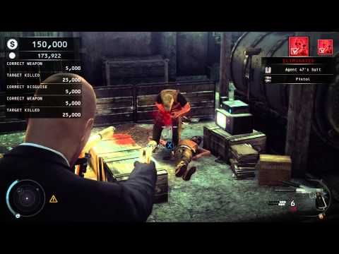 Hitman Absolution Contract (Mortal Combat Easter egg!)