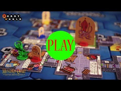 Настольная игра «Манчкин Квест» (с фигурками) – обзор