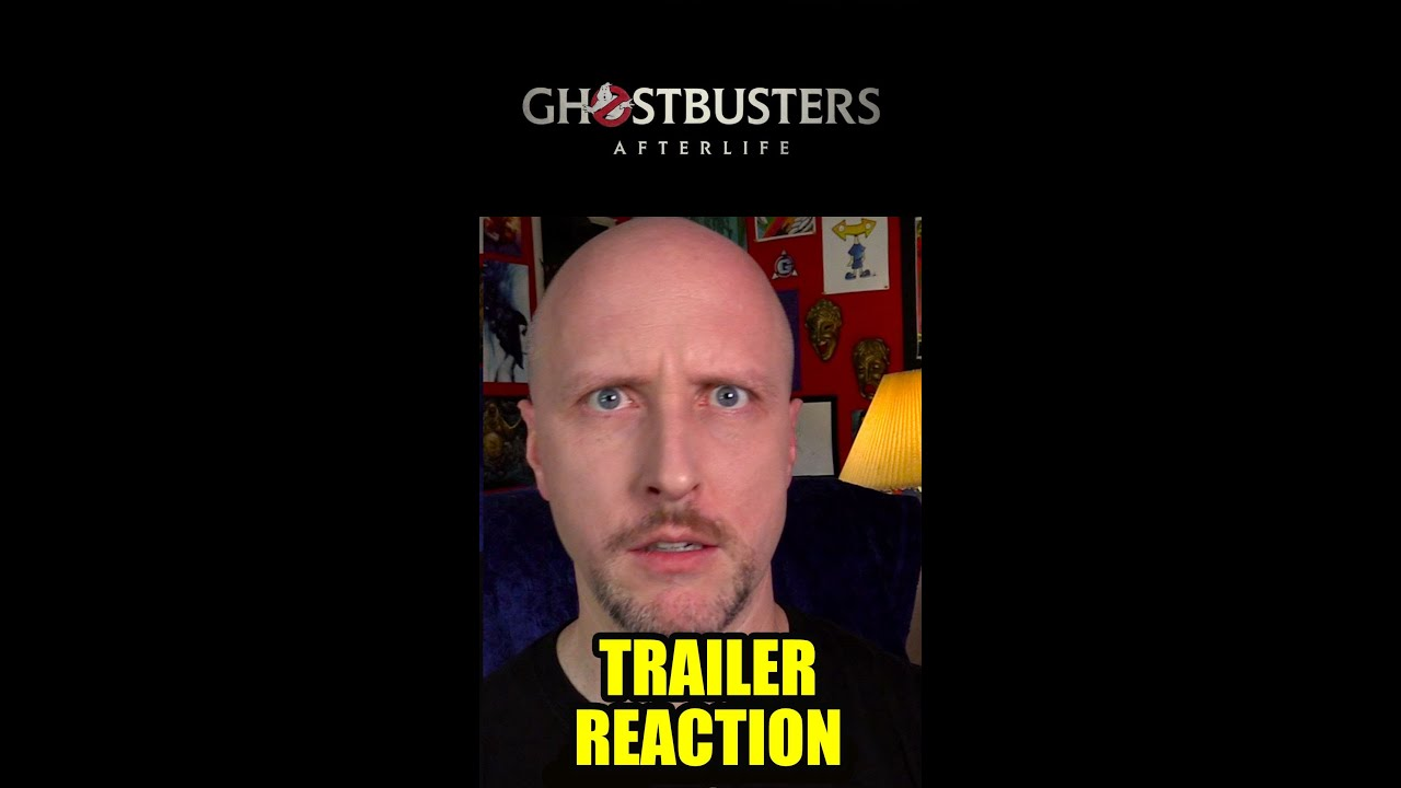 Doug reacts to Ghostbusters Afterlife Trailer #Shorts