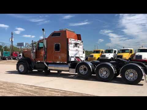 Kenworth W900 Tri Axle Tractor Truck