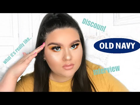 WORKING AT OLD NAVY | WHAT IT'S REALLY LIKE!