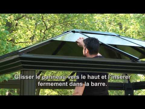 Sojag Ellington 10' X 12' Abris Soleil Installation - Français