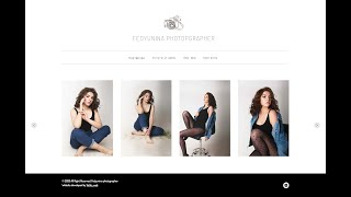 Портфолио вебстудии Vetka_web - сайт фотографа