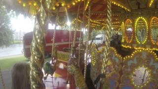 Victorian Merry Go Round POV - Nottingham Riverside Festival 2013
