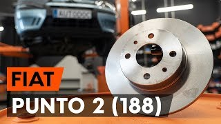 Come cambiare Kit dischi freno FIAT PUNTO (188) - video tutorial