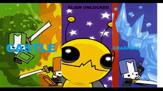 HOW TO UNLOCK THE ALIEN ON CASTLE CRASHERS!
