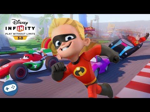 Dash Incredibles Disney Infinity 3.0 Toy Box Speedway Gameplay