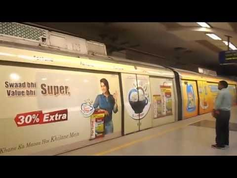 Fortune Edible Oils & Foods Delhi Metro Train wrap