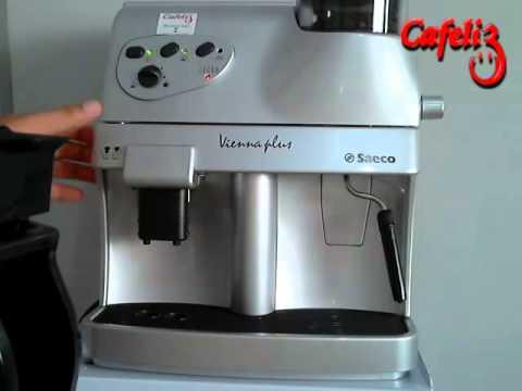 GRUPO TRAVADO - Máquina automática de café expresso - SAECO - CAFELIZ