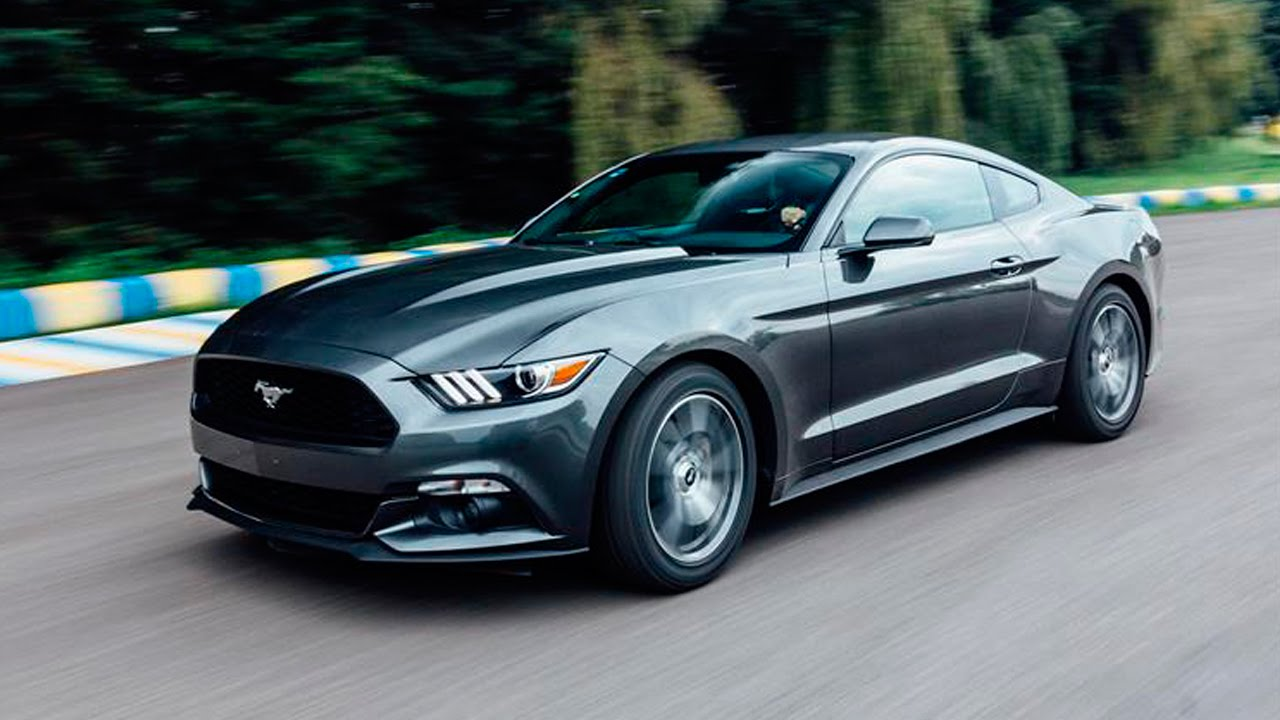 ford mustang ecoboost 2016 a prueba autocosmos youtube. Black Bedroom Furniture Sets. Home Design Ideas