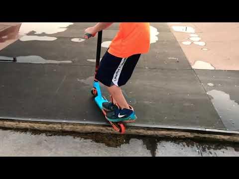 Grinding At Superior SkatePark