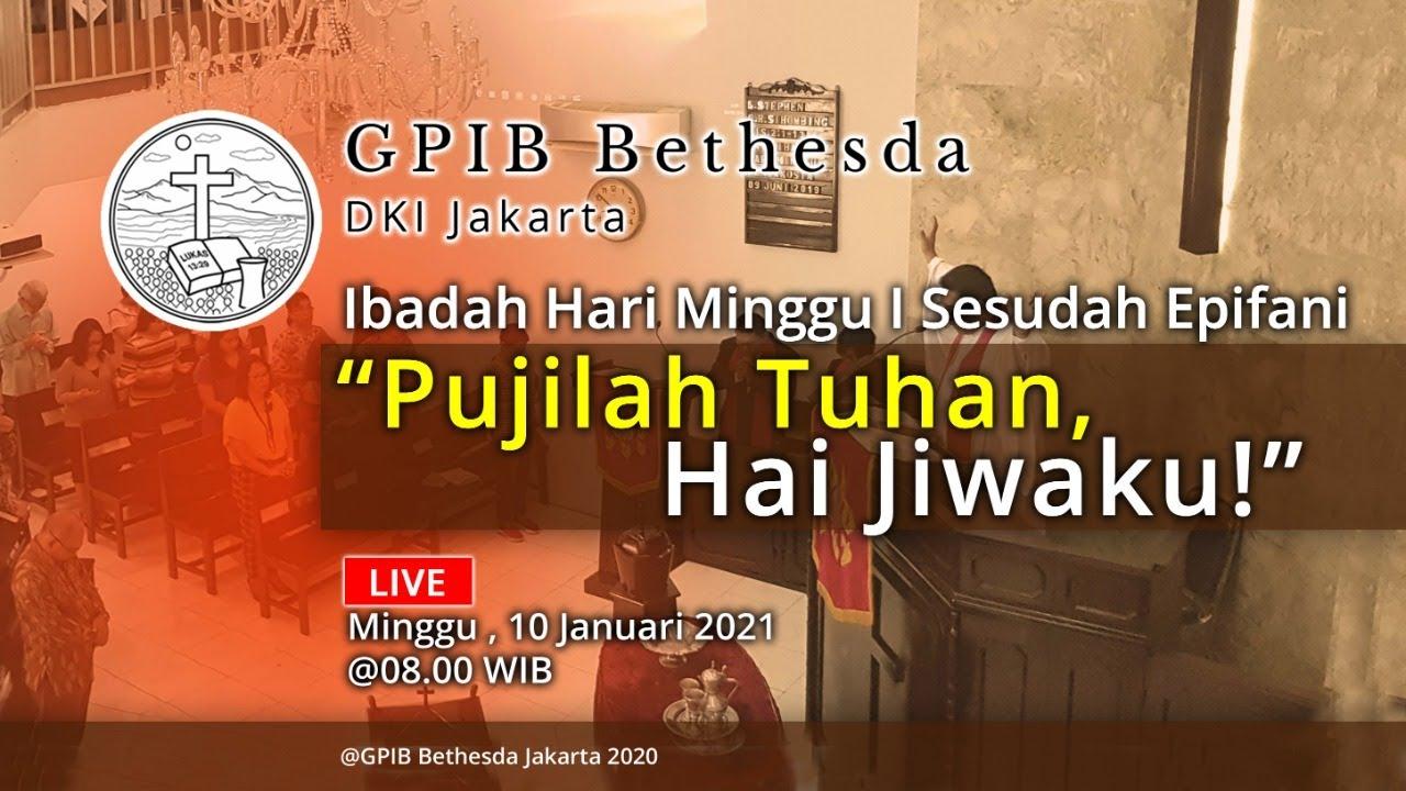 Ibadah Hari Minggu I Sesudah Epifani (10 Januari 2021)