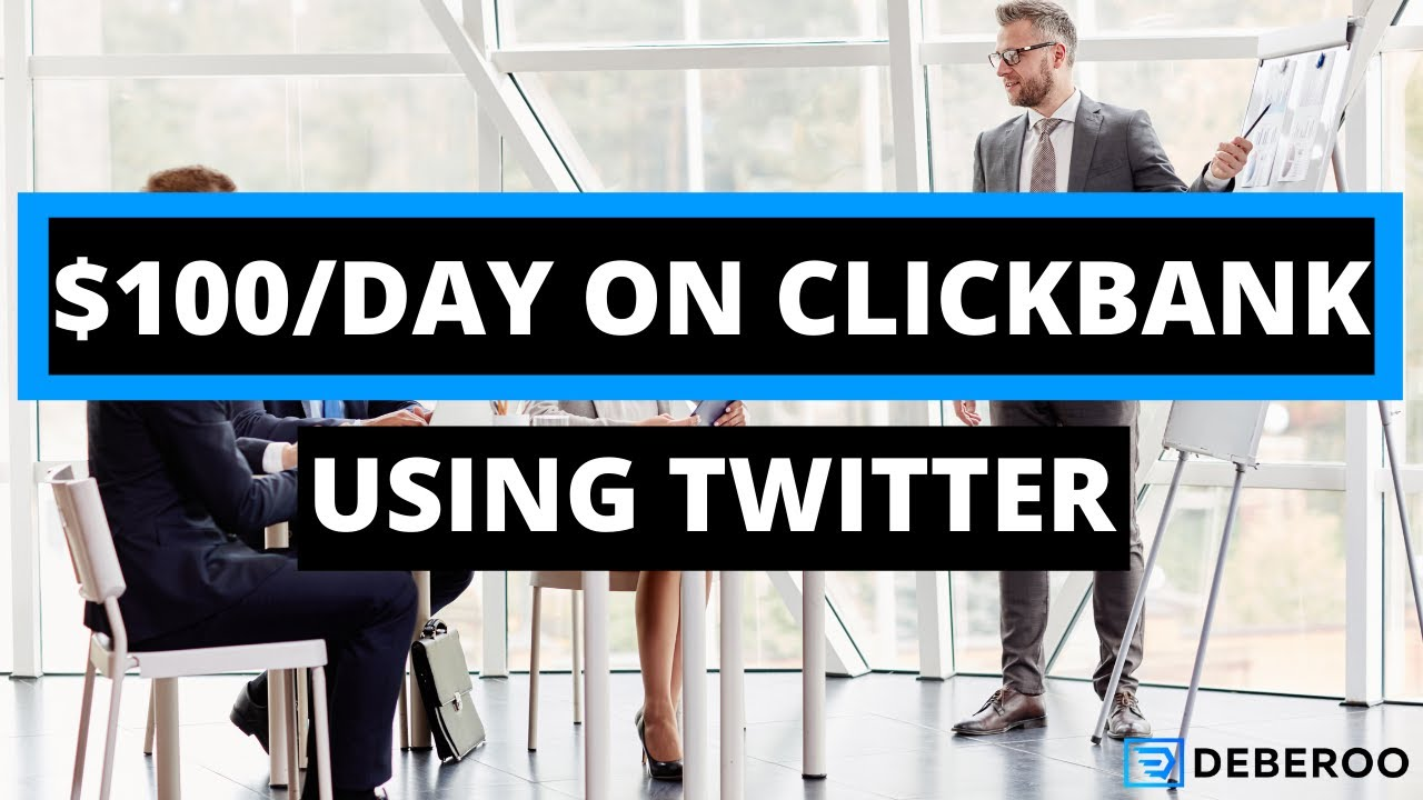 Make Money Online With Clickbank and Twitter Ads [2020 METHOD]