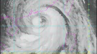 超強颱風山竹最接近香港 天文台掛十號波