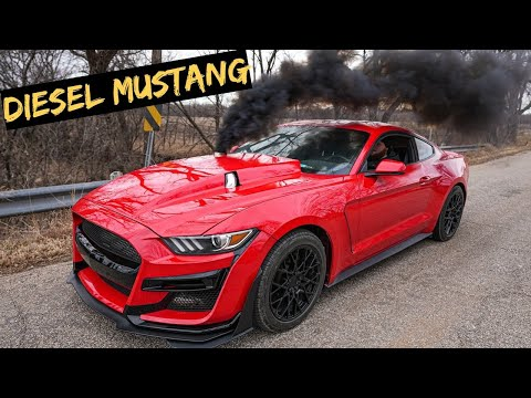 The Cummins Mustang is DONE - Westen Champlin