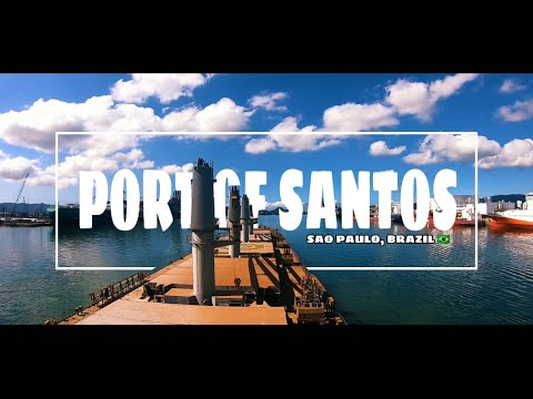 ARRIVAL/DEPARTURE AT PORT OF SANTOS | SAO PAULO, BRAZIL 🇧🇷 |