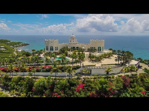 An Enchanting Caribbean Fairytale Castle in Virgin Islands