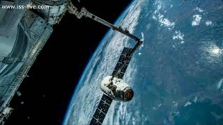 Spacex Dragon - From Spain to Brazil / Real Time Journey Over The Earth