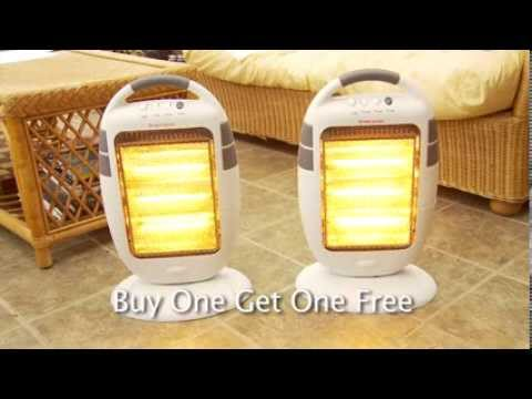 Oscillating Halogen Heaters