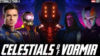 Huge Eternals Plot Hidden in Avengers Endgame + Thor 4 Reveals Backstory of Celestials \u0026 Knowhere???