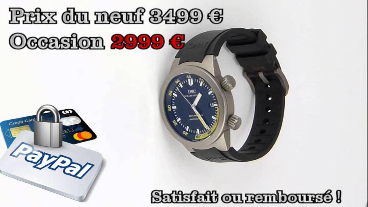 08dddc6b189f les montres IWC Aquatimer Titanium 2000 Réf IW353804 d occasion de  demcoquartz.com