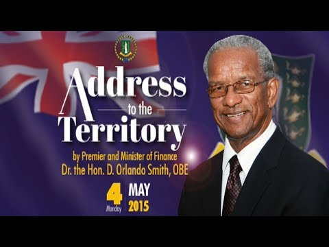 Address to the Territory - 4th May, 2015