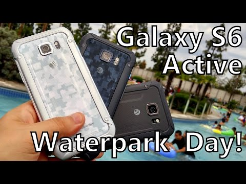 Galaxy S6 Active: A Day at the Waterpark for #ATTMobileReview!