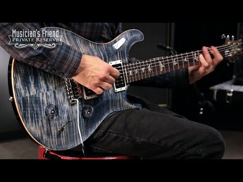 PRS Custom 22 Carved Figured Maple Top with Gen 3 Tremolo Electric Guitar