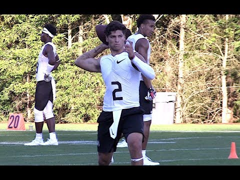 🔥🔥 Quarterback Long Toss Championship | The Nike Opening Finals -  2017