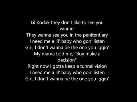 Kodak Black lyric